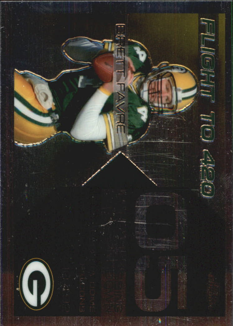 2007 Topps Chrome Brett Favre Collection #BF5 Brett Favre