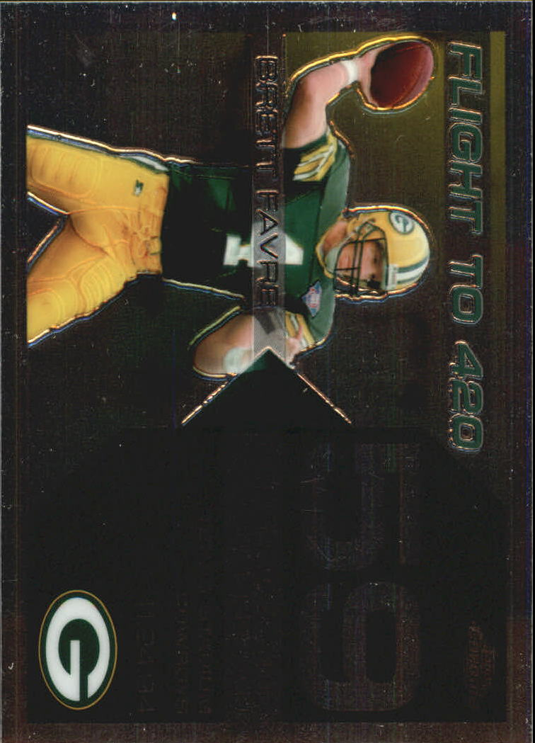 2007 Topps Chrome Brett Favre Collection #BF59 Brett Favre