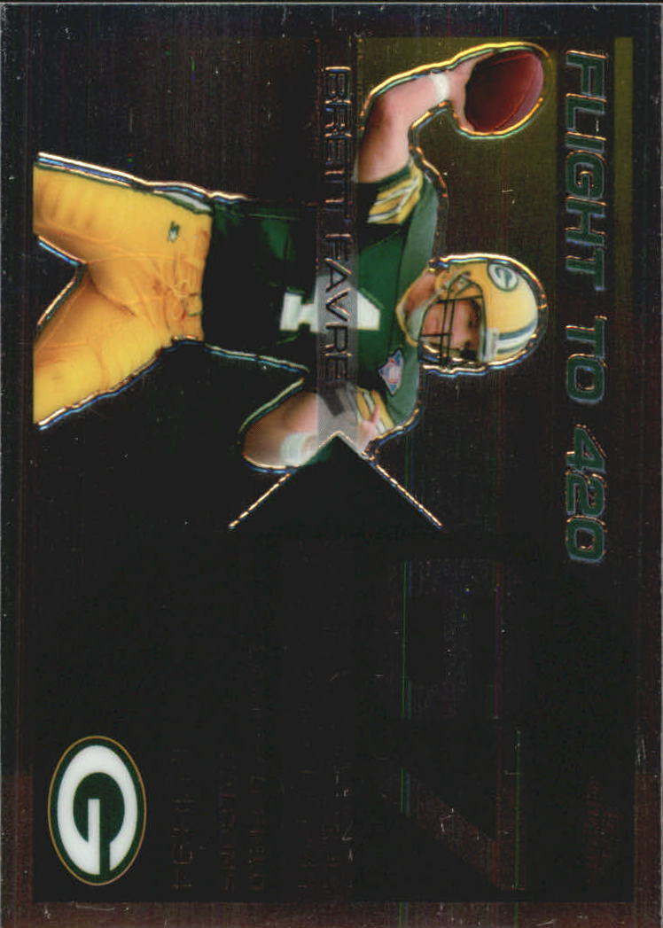 2007 Topps Chrome Brett Favre Collection #BF67 Brett Favre