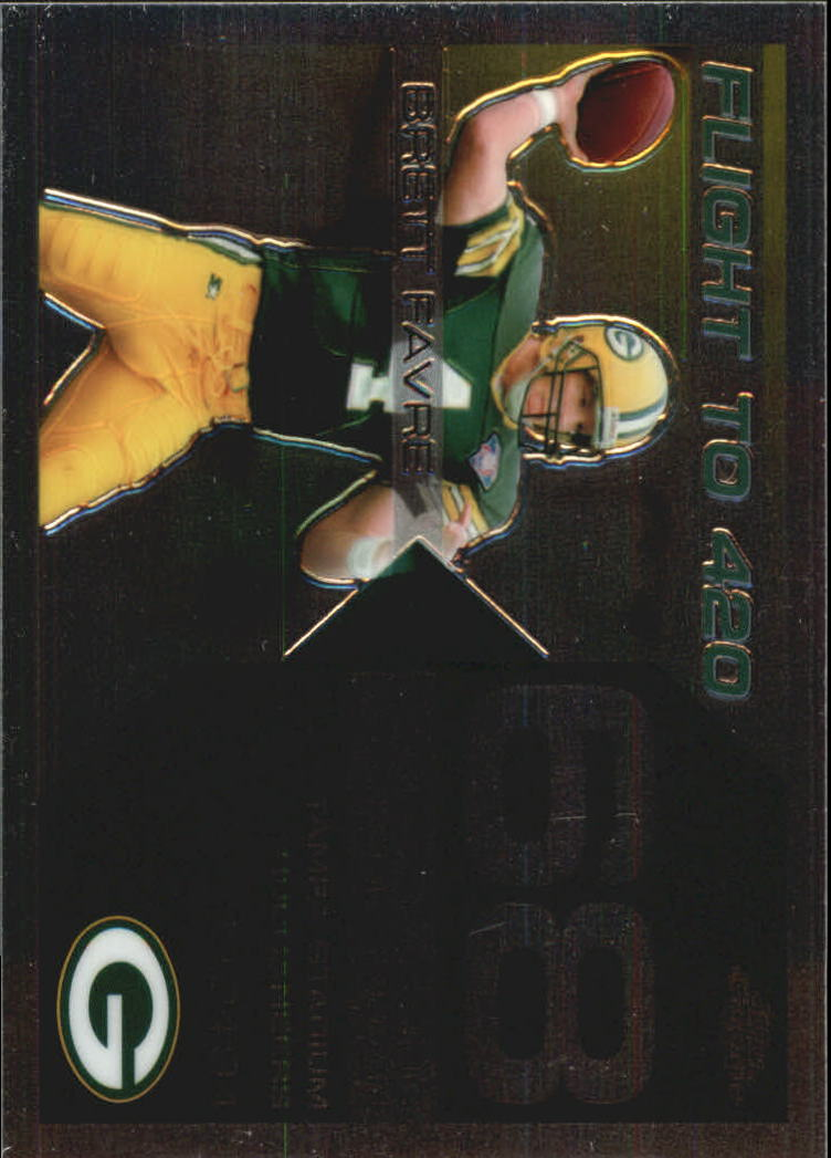 2007 Topps Chrome Brett Favre Collection #BF68 Brett Favre