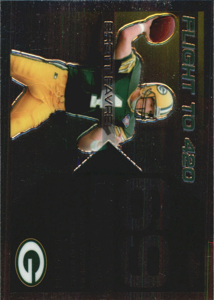 2007 Topps Chrome Brett Favre Collection #BF69 Brett Favre