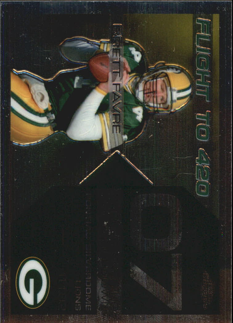 2007 Topps Chrome Brett Favre Collection #BF7 Brett Favre