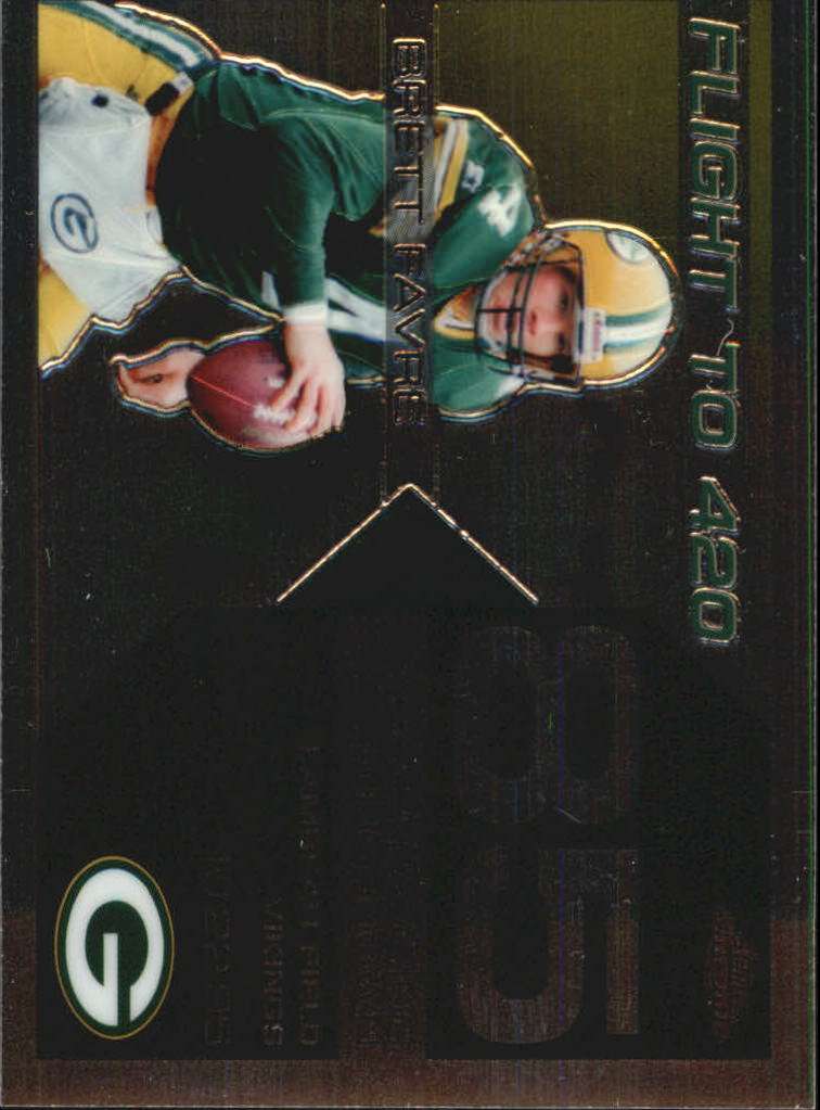 2007 Topps Chrome Brett Favre Collection #BF85 Brett Favre