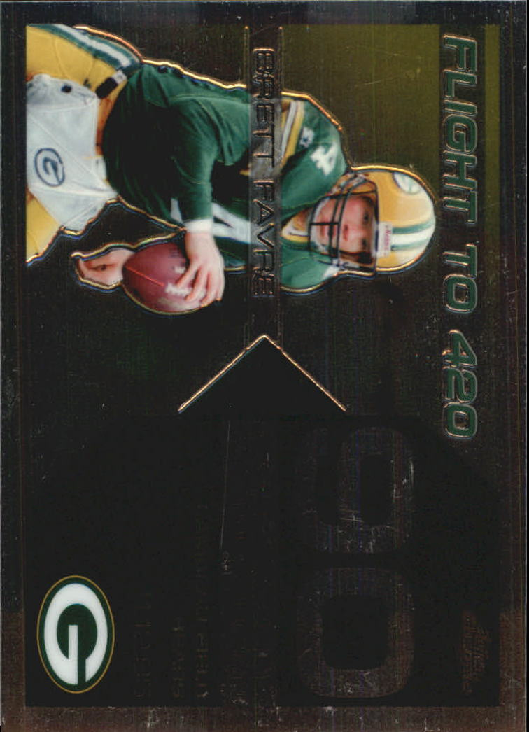 2007 Topps Chrome Brett Favre Collection #BF90 Brett Favre