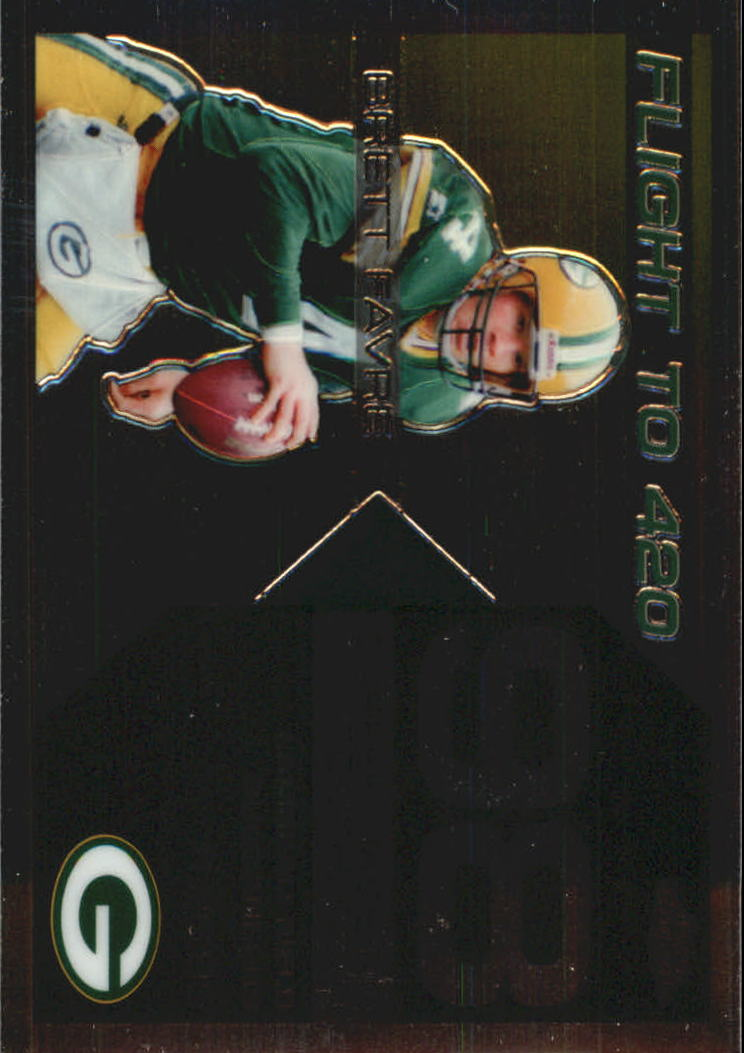 2007 Topps Chrome Brett Favre Collection #BF98 Brett Favre