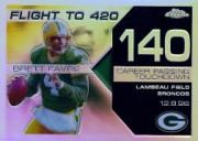 2007 Topps Chrome Brett Favre Collection Refractors #BF140 Brett Favre
