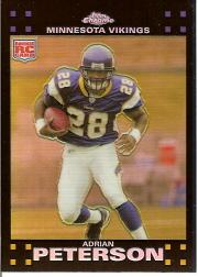 2007 Topps Chrome Refractors #TC181 Adrian Peterson
