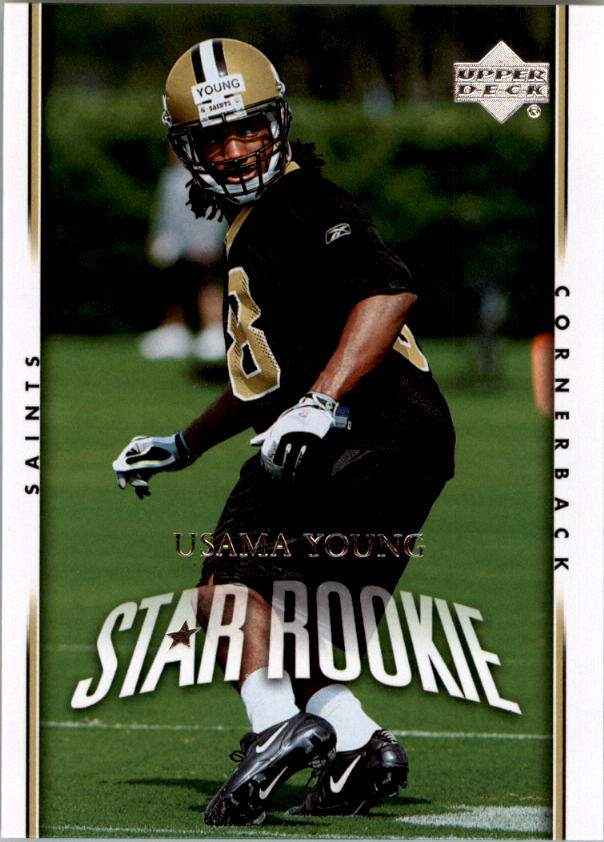 2007 Upper Deck #243 Usama Young RC