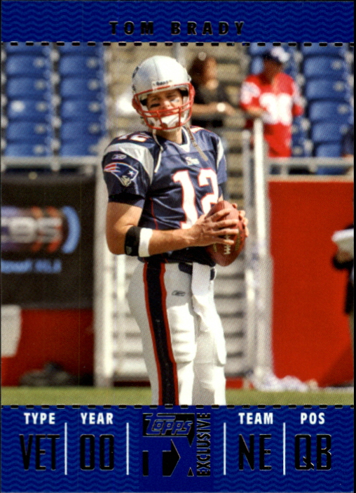 2007 Topps TX Exclusive #3 Tom Brady