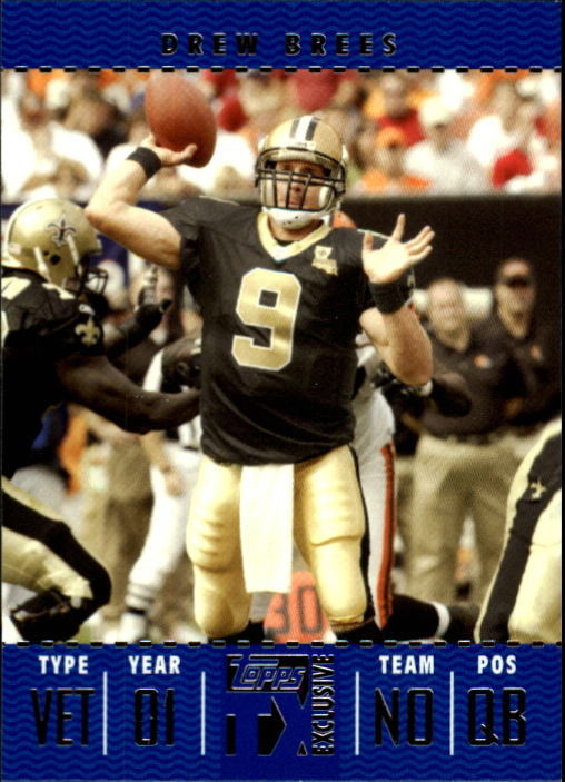 2007 Topps TX Exclusive #4 Drew Brees