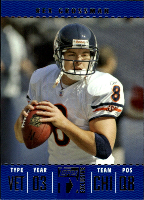 2007 Topps TX Exclusive #5 Rex Grossman
