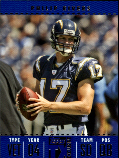 2007 Topps TX Exclusive #8 Philip Rivers