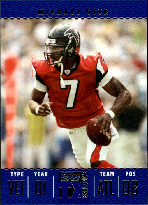 2007 Topps TX Exclusive #11 Michael Vick
