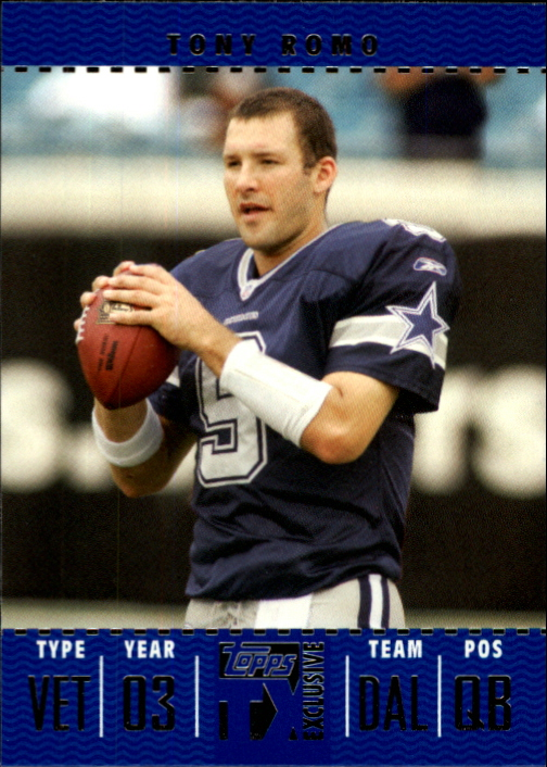 2007 Topps TX Exclusive #12 Tony Romo
