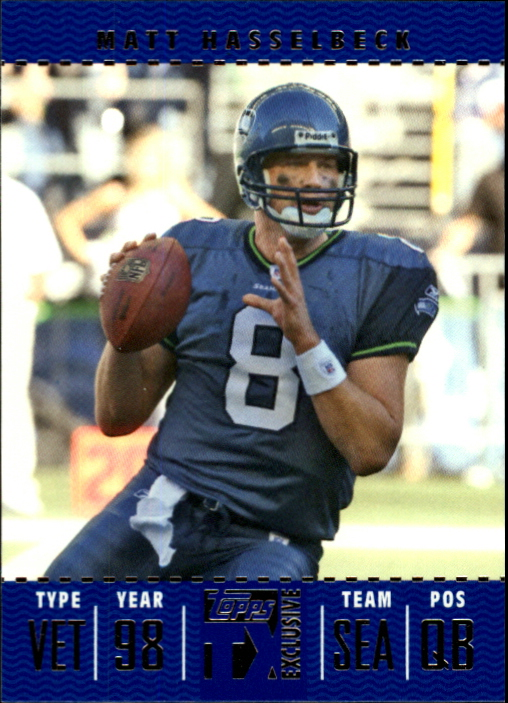 2007 Topps TX Exclusive #13 Matt Hasselbeck