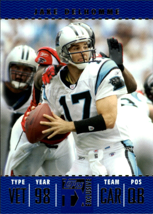 2007 Topps TX Exclusive #14 Jake Delhomme