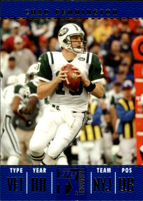 2007 Topps TX Exclusive #17 Chad Pennington