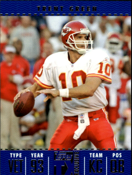 2007 Topps TX Exclusive #19 Trent Green