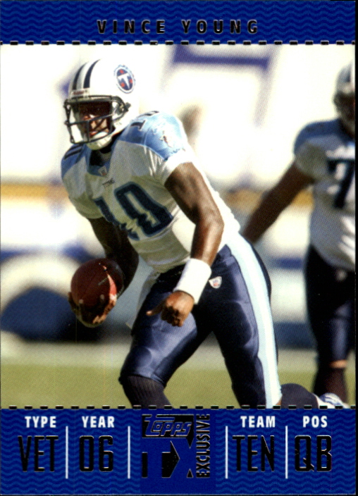 2007 Topps TX Exclusive #21 Vince Young