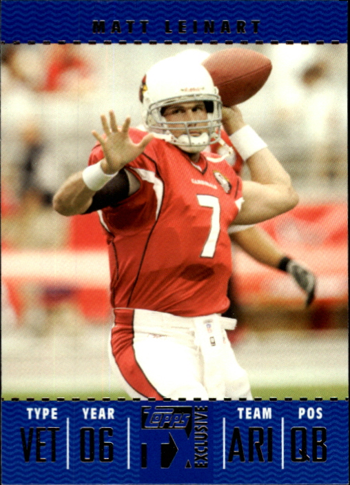 2007 Topps TX Exclusive #23 Matt Leinart