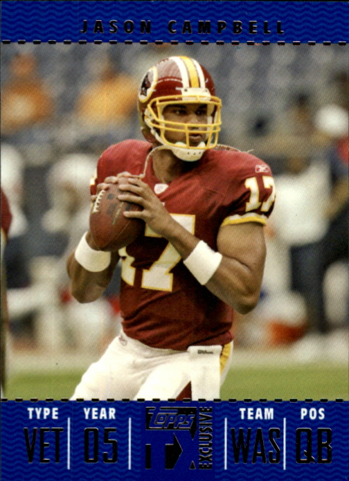 2007 Topps TX Exclusive #24 Jason Campbell