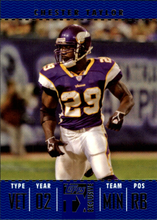 2007 Topps TX Exclusive #30 Chester Taylor