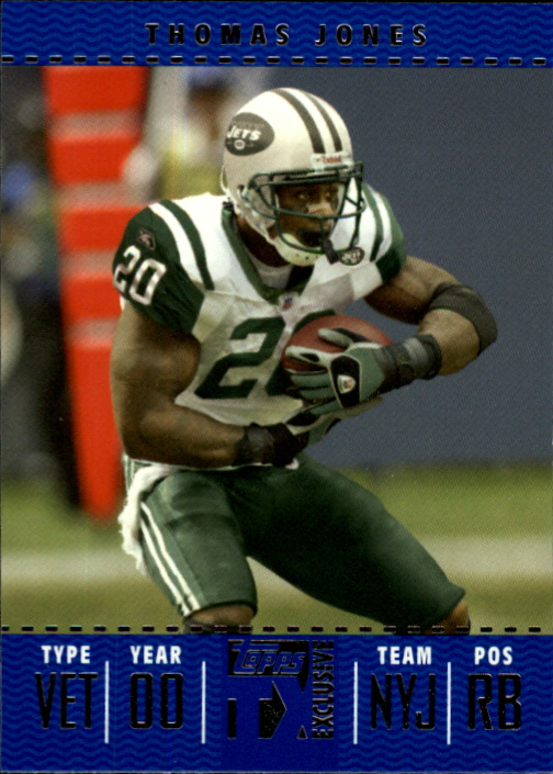 2007 Topps TX Exclusive #31 Thomas Jones