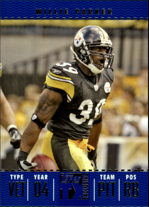2007 Topps TX Exclusive #33 Willie Parker
