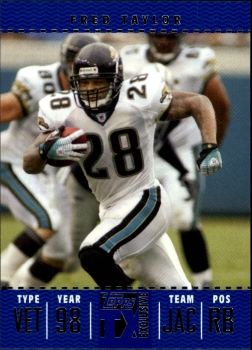 2007 Topps TX Exclusive #35 Fred Taylor