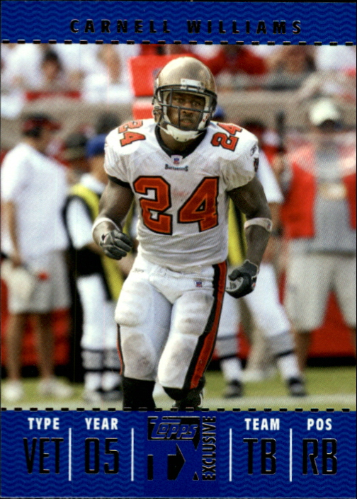 2007 Topps TX Exclusive #42 Cadillac Williams