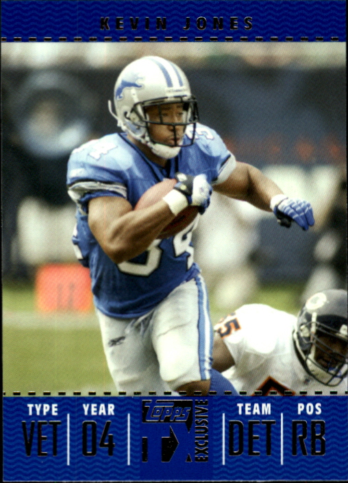 2007 Topps TX Exclusive #49 Kevin Jones