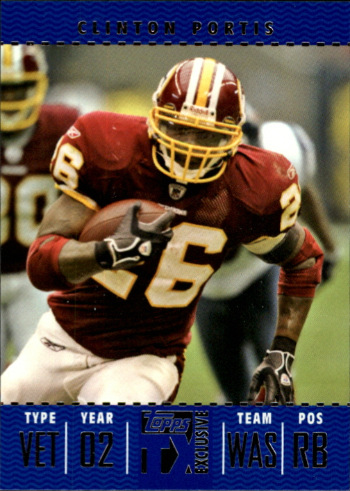 2007 Topps TX Exclusive #51 Clinton Portis