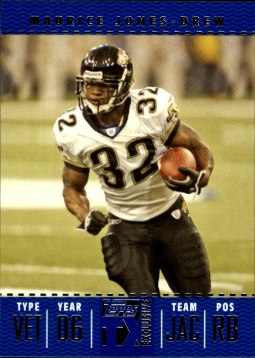 2007 Topps TX Exclusive #54 Maurice Jones-Drew