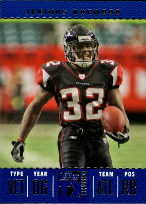 2007 Topps TX Exclusive #55 Jerious Norwood