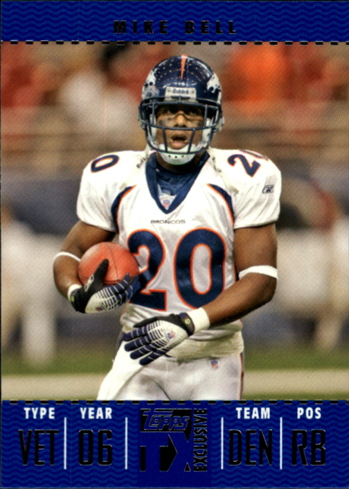 2007 Topps TX Exclusive #56 Mike Bell