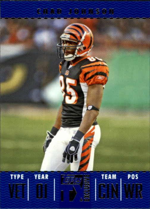 2007 Topps TX Exclusive #58 Chad Johnson