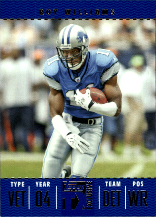 2007 Topps TX Exclusive #59 Roy Williams WR