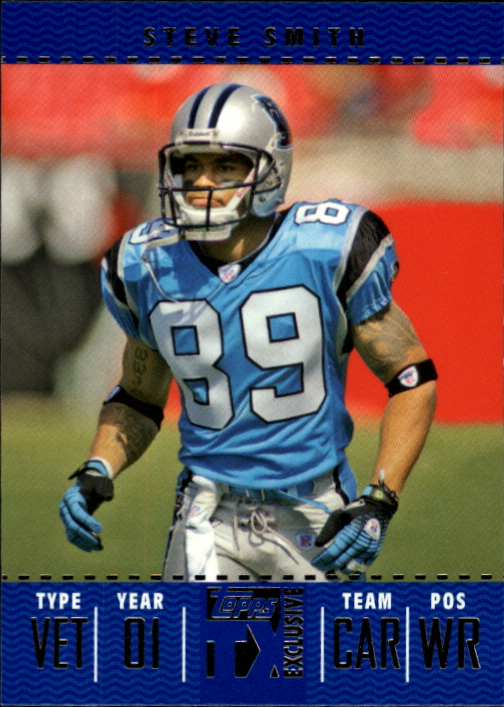 2007 Topps TX Exclusive #62 Steve Smith