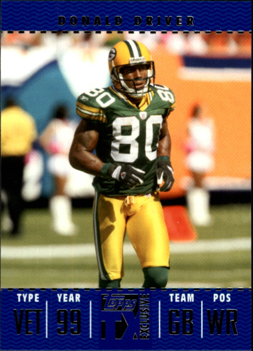 2007 Topps TX Exclusive #63 Donald Driver