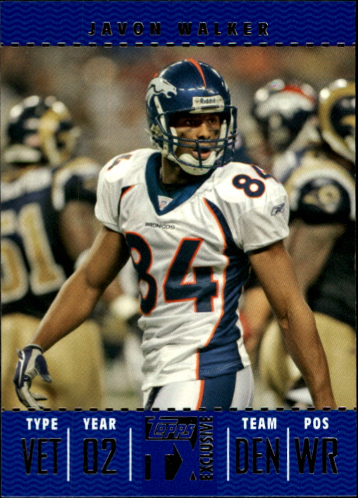 2007 Topps TX Exclusive #67 Javon Walker