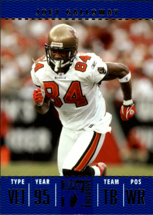 2007 Topps TX Exclusive #74 Joey Galloway