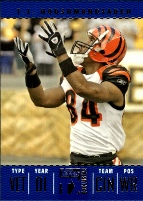 2007 Topps TX Exclusive #75 T.J. Houshmandzadeh