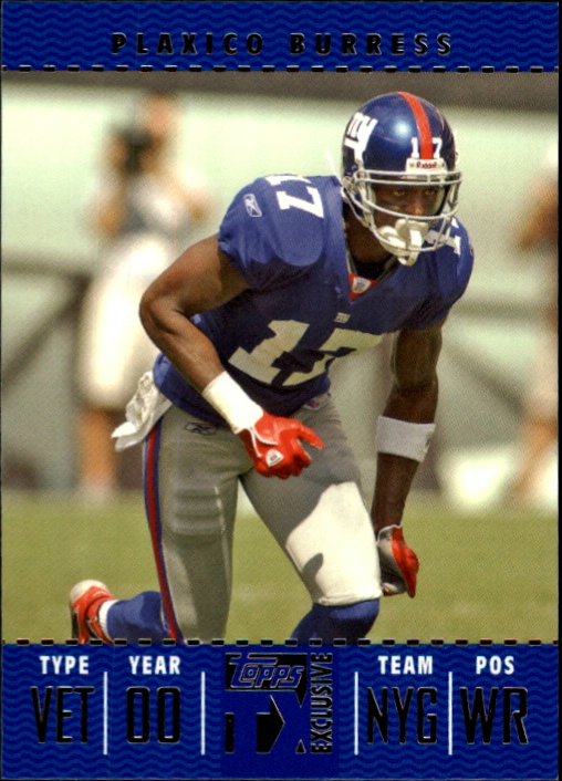 2007 Topps TX Exclusive #76 Plaxico Burress