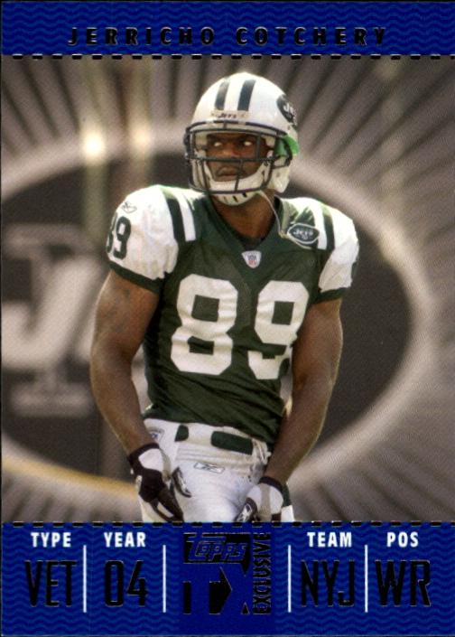 2007 Topps TX Exclusive #77 Jerricho Cotchery