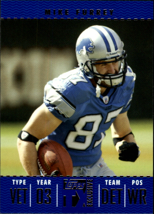 2007 Topps TX Exclusive #79 Mike Furrey