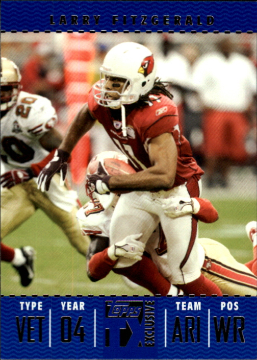 2007 Topps TX Exclusive #82 Larry Fitzgerald