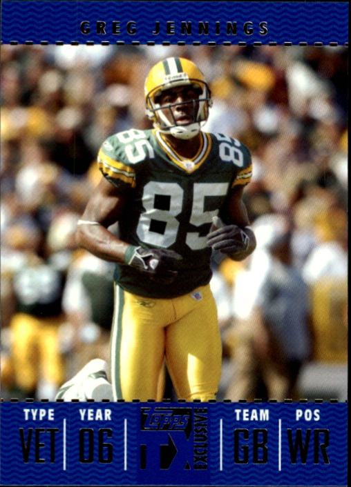 2007 Topps TX Exclusive #92 Greg Jennings