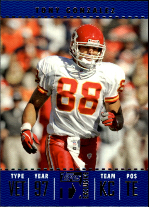 2007 Topps TX Exclusive #96 Tony Gonzalez