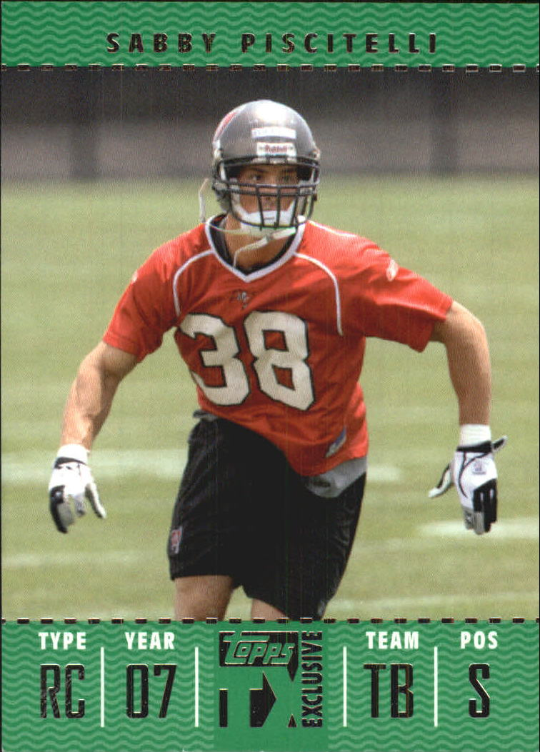 2007 Topps TX Exclusive #187 Sabby Piscitelli/1049 RC