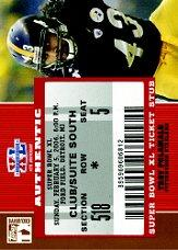2007 Topps TX Exclusive Super Bowl Ticket Stub #TP Troy Polamalu